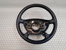03 Mercedes E Class W211 Blue Leather Steering Wheel