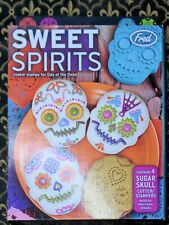 Genuine Fred Sweet Spirits 4 Cookie Cutter Stampers Day of the Dead Sugar Skull