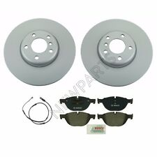 For BMW F07 F10 528i 535i Front 348 X 36 mm Disc Brake Rotors & Pads & Sensor