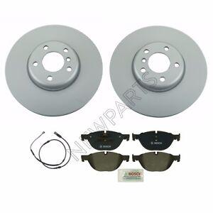 For BMW F07 F10 528i 535i Front 348 X 36 mm Disc Brake Rotors & Pads & Sensor