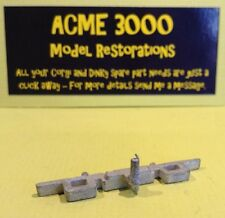 Britains 9786 US Army Jeep Reproduction Repro White Metal Rear Bumper