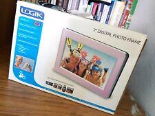"""Logik pink 7"""" Digital Photo Frame - Pre-owned"""