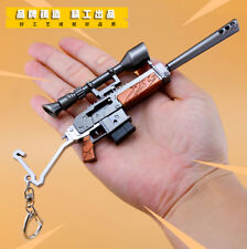 1:6 1/6 PUBG Semi Auto Rifle gun weapon HOT GAME PVE PVP  FULL METAL
