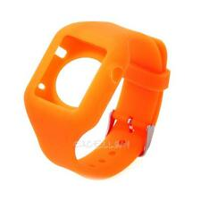 Soft Silicone Rubber Fitness Replacement Band Wrist Strap For Apple Watch iWatch