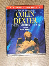 AUDIOBOOK TALKING BOOK THE DAUGHTERS OF CAIN   COLIN DEXTER  2X CASSETTE VGC