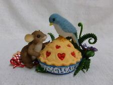 Charming Tails Tweetie Pie 84/139 Mouse Cherry Pie Bluebird New In Box