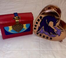 DiSNEY Descendants Crossbody Bag Purse Evie Red Heart Handbag