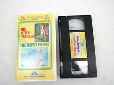 Vintage Readers Digest The Happy Prince - The Little Mermaid (VHS, 1985)