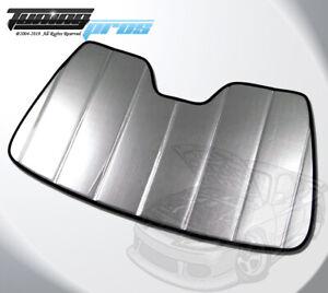 Leatherette Like Custom Fit SunShade Windshield Visor For Chevrolet Volt 16-19