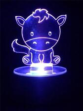 Horse Flashing Night Light - Small Novelty Gift for Kids