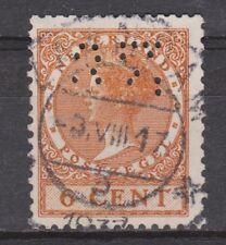 NVPH Nederland Netherlands nr 178 used PERFIN ?? Wilhelmina 1926-1939 Pays Bas