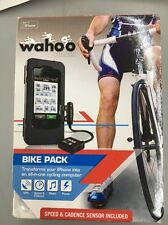 WAHOO BIKE PACK SPEED CADENCE SENSOR IPHONE 4 CASE CYCLING COMPUTER BLACK