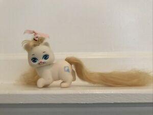 Vintage Little Pretty Kitty Frosty Fur Ice Cream Cone Long Hair