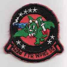 Vintage 422nd Fighter Weapons Squadron Patch / Aviation Insignia
