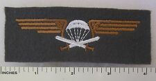 FINLAND AIRBORNE PARACHUTE PARA JUMP WINGS PATCH Cold War Vintage