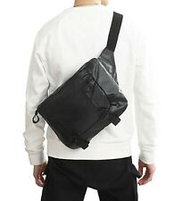 Adidas Originals Large Waist Bags Running Black Cross Bag Casual Sacks FM1291