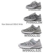 New Balance 990 v5 Wide Men Women Kid Toddler Classic Grey Family Shoes Pick 1