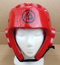 Macho Martial Arts Brad Haynes' Academy Red Headgear Size Adult Large Helmet