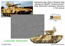 Splinter Camo for BMPT Terminator 1/72 Limited Edition Paint Masks by DN Models