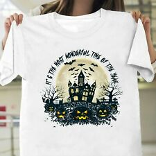 New listing It's The Most Wonderful Time of The Year Shirt, Halloween Gift T-shirt All Size