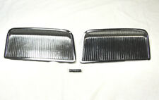 1964 Pontiac GTO Chrome Hood Scoops  USA MADE!!!  Scoop Vents Grills Inserts 64