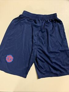 Manchester United National Football Club YOUTH 28 Navy Shorts #310