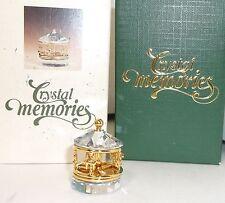 Swarovski Crystal Memories Horse CAROUSEL Merry Go Round MIB Mint w/Box