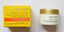 Decleor Intense Nutrition Luxuriant Nourishing Lip Balm 8g Full Size NEW & BOXED