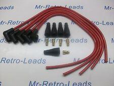 """Kit de plomo rojo 8MM rendimiento de Encendido adecuado para 4 Cyl 90"""" grados Spark Kit Car"""