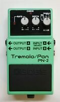 BOSS PN-2 Tremolo Pan Guitar Effects Pedal 1990 #41 Free Shipping