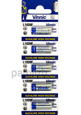 5x  23A L1028F  MN21  23A 8LR23  12V battery   Alkaline  batteries  by Vinnic