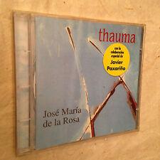 JOSE MARIA DE LA ROSA JAVIER PAXARINO THAUMA RESCD 009 WORLD MUSIC