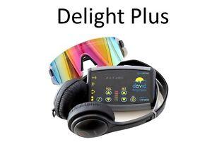 Mind Alive David DELIGHT PLUS Light & Sound Machine w/ 25 Sessions