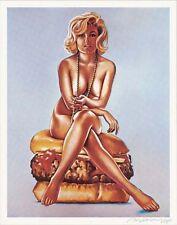 Mel Ramos - Virnaburger - 1965, Pop Art Grafik Lithografie, Luxus