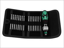 Wera WER051040 Kraftform Kompakt 60 RA Ratcheting Bit Holder Set of 17