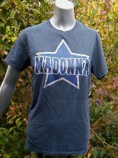 Madonna Lucky Star Women's Deluxe Glitter Graphics Gildan T-Shirt Sz Sm NWOT