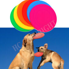 2Pcs Dog Flying Disc Tooth Resistant Outdoor Large Dog Training Fetch Toy