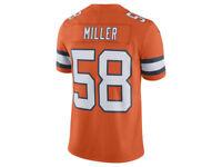 Denver Broncos Von Miller Nike NFL Men's Limited Color Rush Jersey SMALL / LARGE