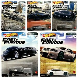 Hot Wheels Premium 2020 Fast & Furious Series Choose From 6 Vehicles 10/4/2021