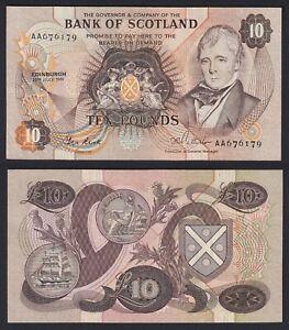 Scozia 10 pounds 1981 SPL-/XF-  C-06