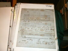 #7708, Patent for Sash & Blind Machine,Edward Spears,Trumbull Co Ohio,1853,Rare
