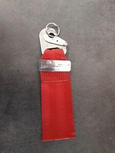 Schlüsselanhänger rot Seatbelt Original Airline Airbus BOEING Flugzeug