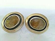 Echo Of the Dreamer Sterling Silver - Pierced - Vintage Earrings