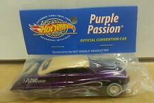 HOT WHEELS *NEWSLETTER* *PURPLE PASSION* 1951 MERCURY*RARE* 13th CONVENTION 1999