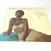 Abbey Lincoln 'That's Him' 1983 Riverside Jazz Vinyl LP EX/VG+ Very Nice Copy!