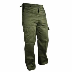 Mens Army Military Cargo Combat TrousersCamo Camouflage Pants Airsoft Work