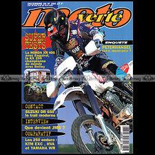 MOTO VERTE N°260 JEAN-MICHEL BAYLE HONDA XR400 SUZUKI DR 650 SE KTM 250 EXC 1995