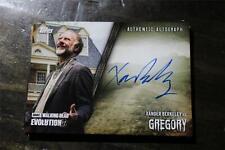XANDER BERKELEY/GREGORY  THE WALKING DEAD AUTOGRAPHED CARD