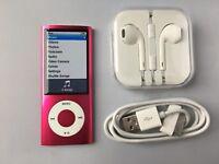 Apple iPod nano 5th Generation Pink (16GB) mint