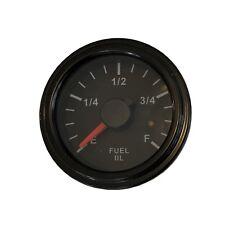"""Fuel Gauge, 2""""/52mm, full ranges, LED, low fuel warning, 001-F-BB-17"""